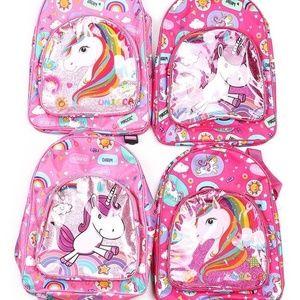 Kids Unicorn Backpack Pink
